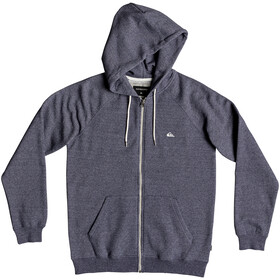 Quiksilver Everyday Zip Veste polaire à capuche Homme, medieval blue heather